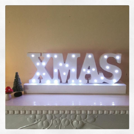 50% OFF RETRO XMAS LED SIGN